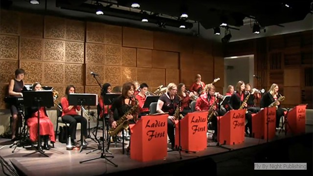 Ladies First Jazz Big Band